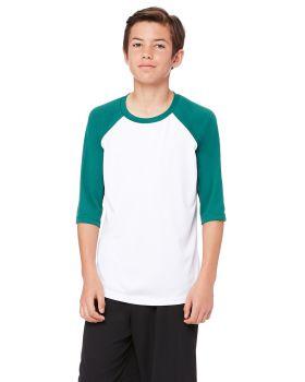 All Sport Y3229 Youth Baseball T-Shirt
