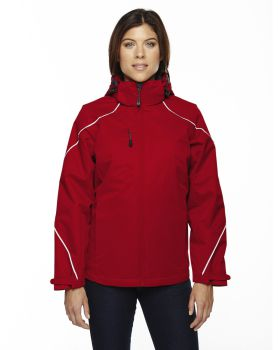 Ash City - North End 78196 Ladies' Angle 3-in-1 Jacket with Bonded Fleec ...