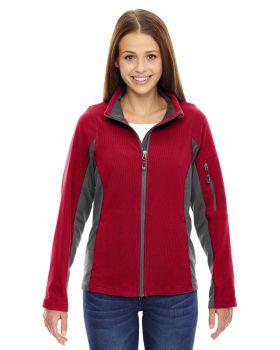 Ash City - North End 78198 Ladies' Generate Textured Fleece Jacket