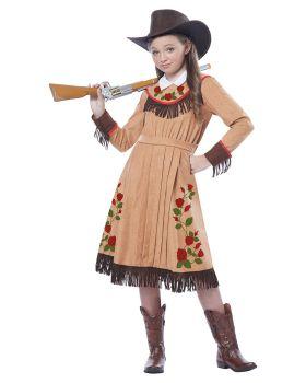 California Costumes 00479 Cowgir Annie Oakley Girl Costume