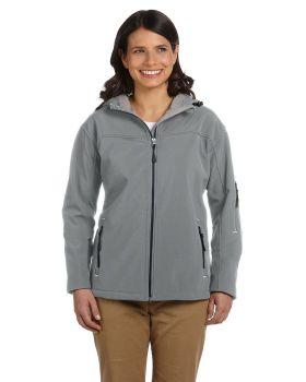 Devon & Jones D998W Ladies' Soft Shell Hooded Jacket