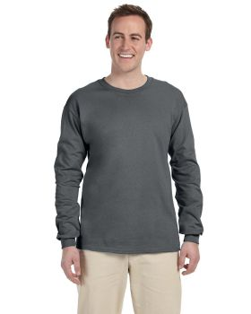 Fruit of the Loom 4930 Adult Long Sleeve HD Cotton T-Shirt