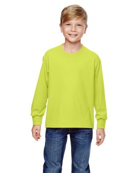 Fruit of the Loom 4930B Youth HD Cotton Long-Sleeve T-Shirt
