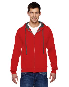 Fruit of the Loom SF73R Adult SofSpun Full-Zip Hooded Sweatshirt