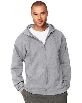Hanes F280 Adult Ultimate Full Zip Hood Hooded Sweatshirts