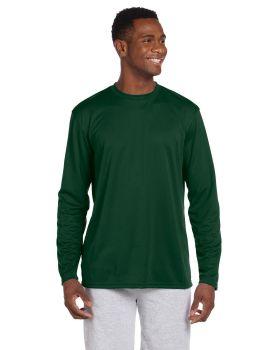 Harriton M320L Adult Athletic Sport Long-Sleeve T-Shirt
