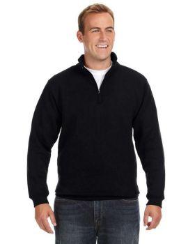 J America JA8634 Adult Heavyweight Fleece Quarter-Zip