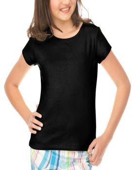 Kavio G1C0154 Girl's 7-16 Baby Doll Short Sleeve Top