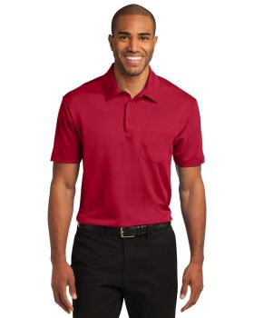 Port Authority K540P Silk Touch Performance Pocket Polo Shirt