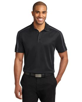 Port Authority K547 Silk Touch Performance Colorblock Stripe Polo