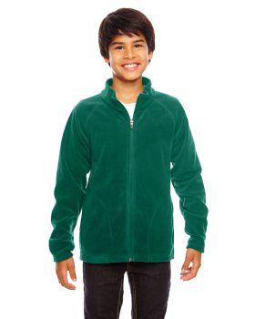 Team 365 TT90Y Youth Campus Microfleece Jacket
